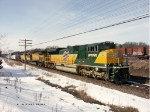 UP 1995 leads LTB-60 into Altoona
